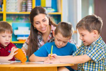 Воспитание и обучение детей