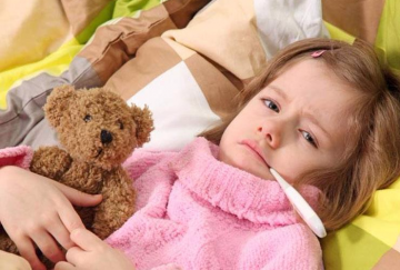 Во время болезни ребенок