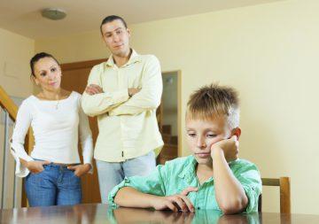 Условия воспитания ребенка в семье