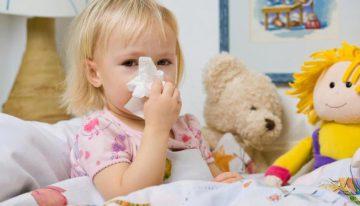 Ребенок заболел ОРВИ. Симптомы.