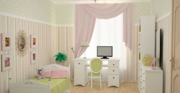 Особенности оформления интерьера детской комнаты